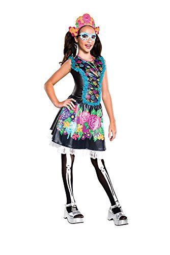 Rubie's Costume Monster High Collector Series Skelita Calaveras Child Costume, Medium -