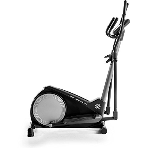 Gold's Gym StepThru Design Stride Trainer 380 Elliptical, GGEL62816