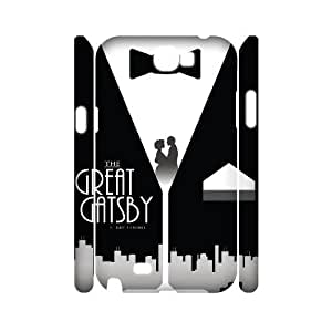 GGMMXO The Great Gatsby Phone 3D Case For Samsung Galaxy Note 2 N7100 [Pattern-1]