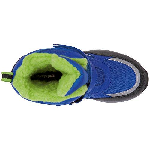 Kappa Unisex-Kinder Tex Kids Combat Boots Blau (6030 Blue/Green)