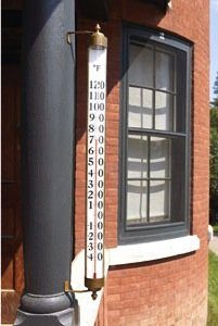Vermont Estate Outdoor Thermometer