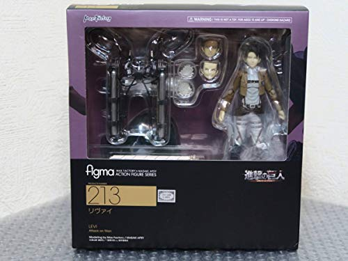 figma 進撃の巨人 213 リヴァイ フィギュア/マックスファクトリー