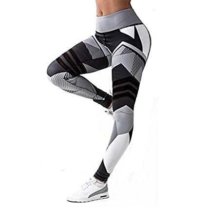 Amazon.com: Mini Mexx Yoga Pants S-XXXL Plus Size Leggings ...