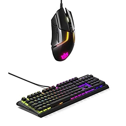 SteelSeries Rival 600 Mouse and Apex M750 Keyboard Bundle