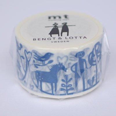 KAMOI mt Series Masking Tape [Bengt&Lotta/Adam and Eve] (Japan Import)