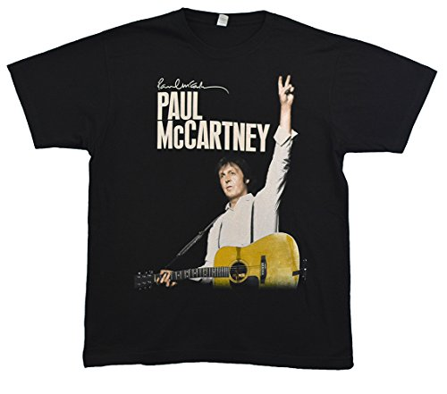 The Beatles Paul McCartney On The Run 2-Sided Tour T-Shirt Medium