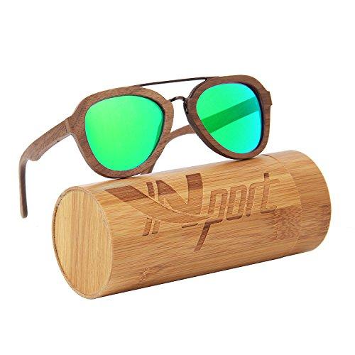 realizadas Ynport y bambú de ligeras auténtica sol nbsp;Gafas verde de Crefreak con madera nbsp;– flotantes unisex xqHqOr4wAY