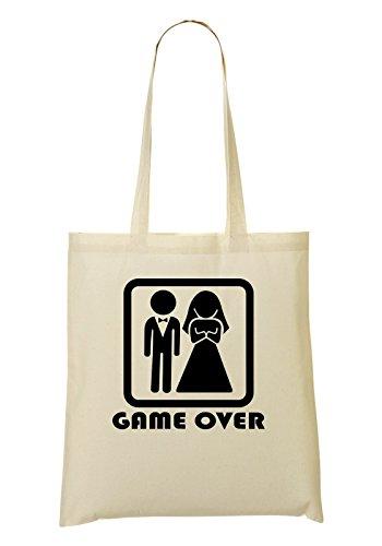 Wedding Game Over Bolso De Mano Bolsa De La Compra
