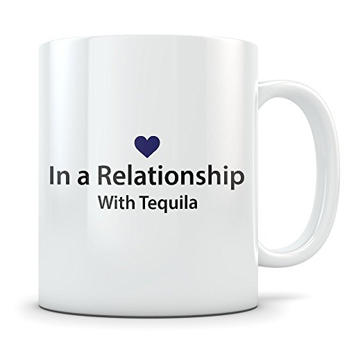 Tequila Lover Gift - Funny Mug for %100 Blue Agave Nectar Drinkers - Great Gag Cup for Someone Who Loves to Drink This Mexican Alcohol Spirit