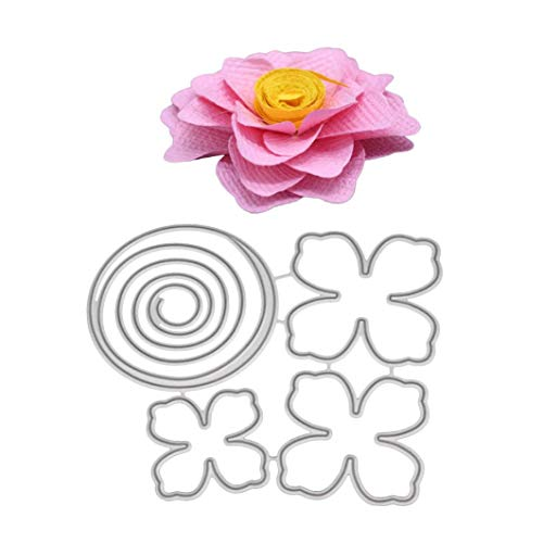 Aurora Metal Die Cutting Dies Handmade Stencils Template Embossing for Card Scrapbooking Craft Paper Decor by E-Scenery (C) -