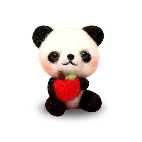 TALENTBABY - DIY Needle Felting Kit Needlecrafts Panda (Panda Wool)