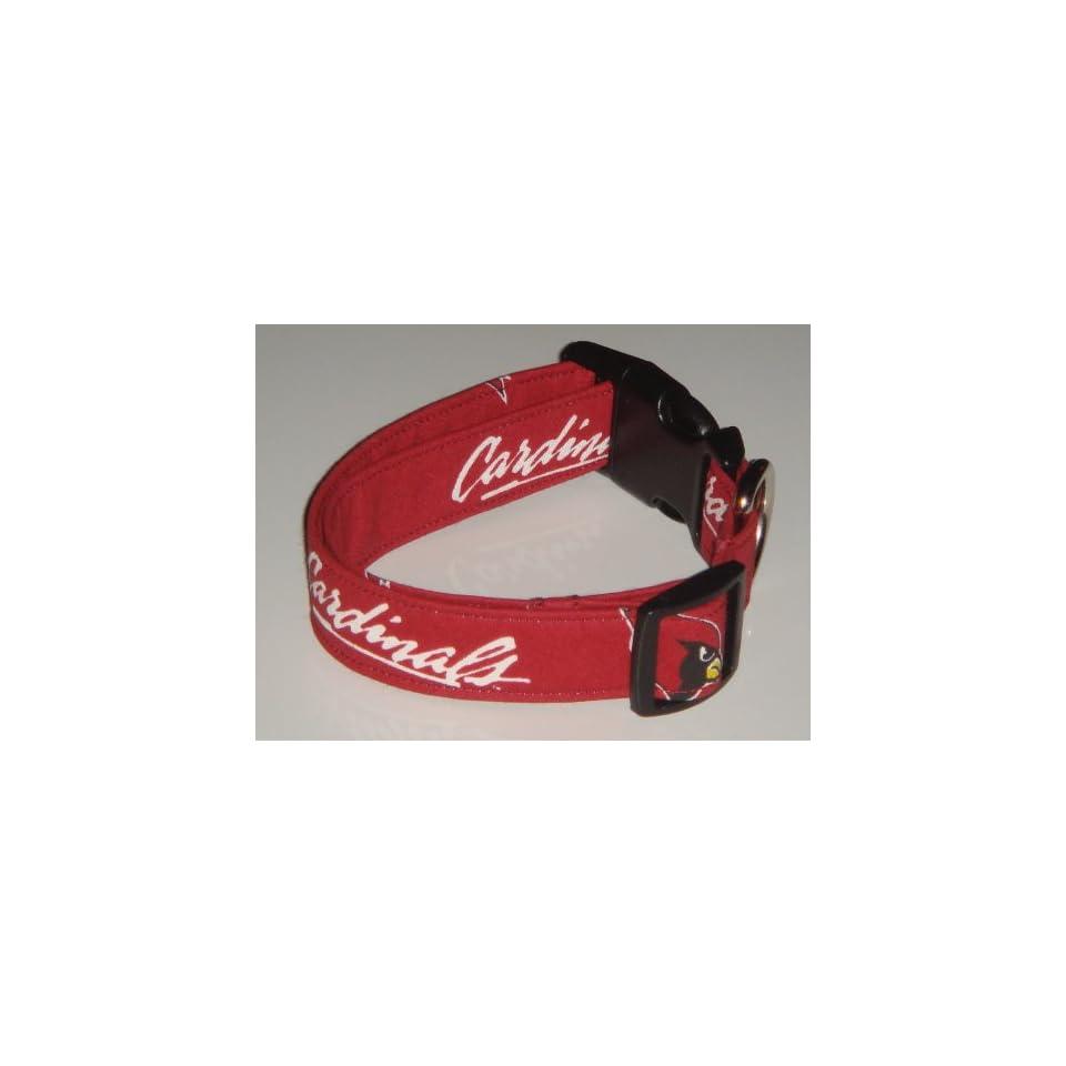 NFL Arizona Cardinals Football Dog Collar Red Style 2 Medium 1