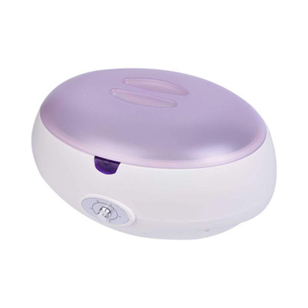 Profesional Calentador de cera Crisol De Depilación Parafina Calentador de cera Botón de rotación Temperatura de ajuste Máquina depiladora para Belleza Piel ...