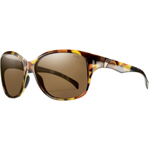 Smith Optics Jetset Premium Lifestyle Polarized Sports Sunglasses - Tortoise/Brown / Size 58-15-125 by Smith Optics (Image #1)