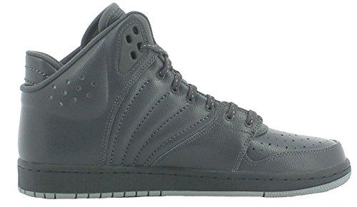 Nike Jordan 1 Flight 4 Scarpe Sportive Uomo Grigie Pelle (42.5)