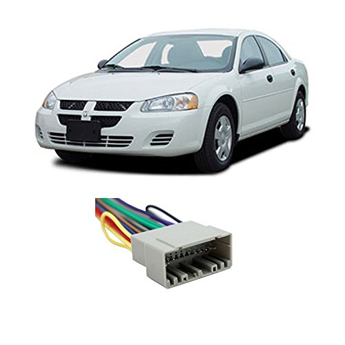 Fits Dodge Stratus 2002-2006 Factory Stereo to Aftermarket Radio Harness Adapter