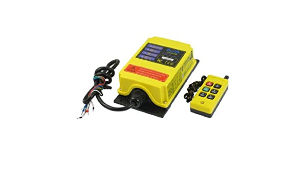 eDealMax F21-4S 6 Canales grúa del alzamiento de Radio Control remoto del sistema de automatización 36VAC: Amazon.com: Industrial & Scientific