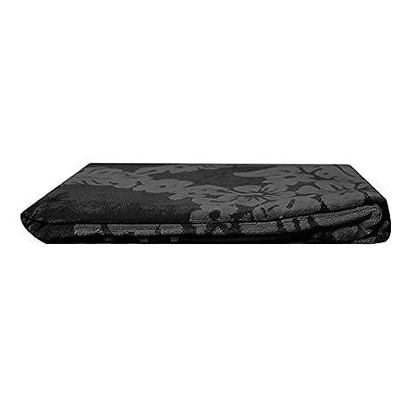 (413A) TOALLA PLAYA GRANDE (calavera negra) multicolor 100% ALGODÓN EGIPCIO 90 X 170 CM y PACK CALCETINES MARCA REGALITOSTV tobilleros anti-presion: ...