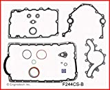 ENGINETECH F244CS-B Lower Conversion Gasket Set Compatible with 1997-2011 Ford Mazda Land Rover 244 4.0L SOHC V6 12-Valve (Truck & Car Engines)