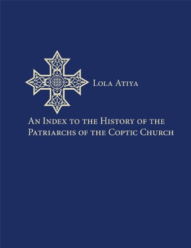 An Index to the History of the Patriarchs of the Coptic Church (Utah Series in Turkish and Islamic Stud)