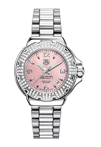 TAG Heuer Women s WAC1216.BA0852 Diamond Pink Dial Formula One Watch