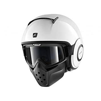Shark, Casco deportivo Jet Drak, color blanco