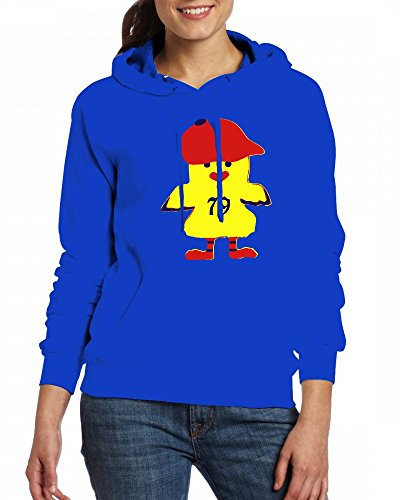 A Hipster Chicken on a Red Cap Womens Hoodie Fleece Custom Sweartshirts