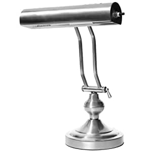 Boston Harbor Atb 8004 Piano Desk Lamp Satin Nickel
