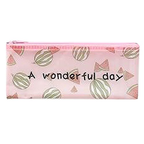 3PCS Cute File Bag Stationery Bag Pouch File Envelope for Office/School Supplies, Watermelon B6 by Kylin Express (Image #2)