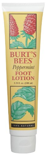 Lotion Foot Peppermint (Burt's Bees Foot Creme, Peppermint, 3.38 oz, 2 pk)