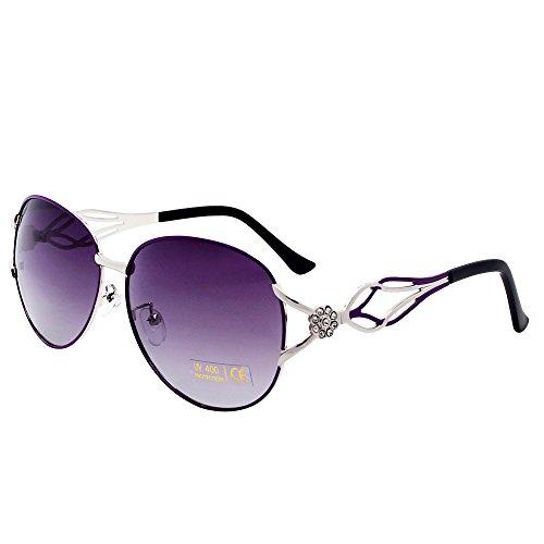 sol para Gafas de mujer VeBrellen morado q1SC4Wz