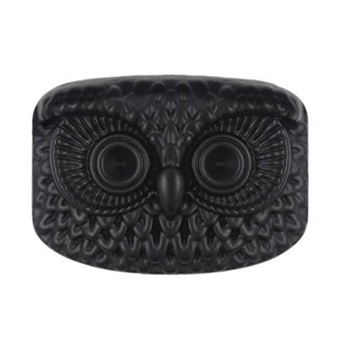 Bezelry 10 Pieces Owl Totem Metal Shank Buttons 22mm (Matte - Buttons Matte