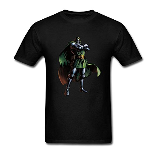Doctor+Doom+shirts Products : Futhure Men's Doctor Doom Cotton DIY T Shirt