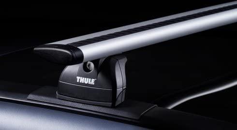 Thule de aluminio Baca 90435334 con Nueva Wingbar Traverse Sistema ...
