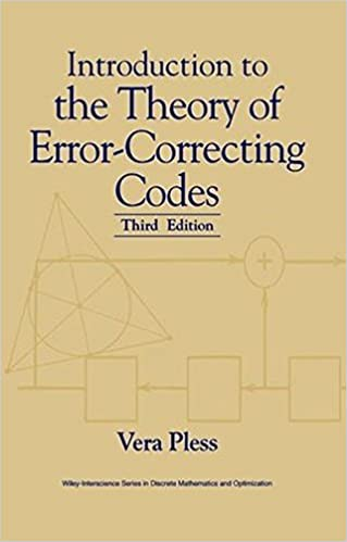 Introduction to the theory of error correcting codes vera pless introduction to the theory of error correcting codes vera pless 9780471190479 amazon books fandeluxe Choice Image
