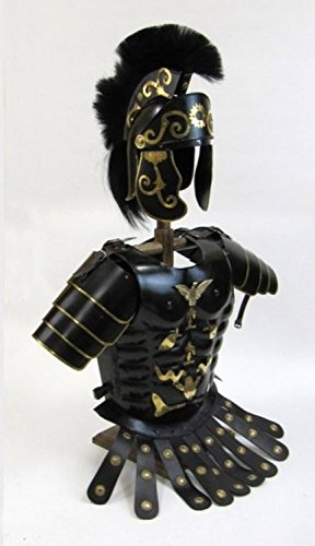 Elaborate Roman Armour - Breastplate, Shoulders, and Helmet - Wearable Costume