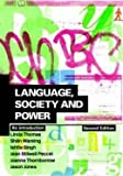 img - for Language, Society and Power: An Introduction (Volume 2) by Linda Thomas (2003-12-18) book / textbook / text book