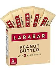 Larabar Gluten Free Peanut Butter Fruit and Nut Energy Bar, 5 Count (Pack of 1)