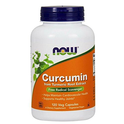 NOW Curcumin 120 Veg Capsules