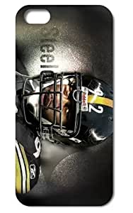 The NFL stars James Harrison from Pittsburgh Steelers team custom design case cover for iphone 5 5S