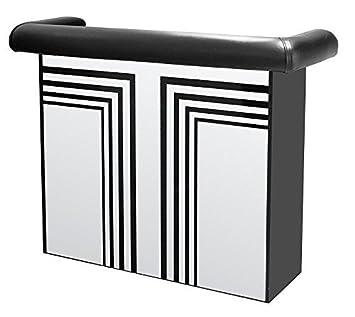 Miami Mirrored Home Bar Unit Amazon Co Uk Kitchen Home
