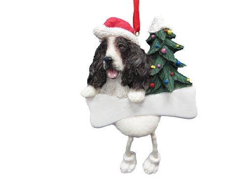 (Springer Spaniel Ornament with Unique