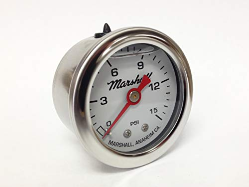 CW00015 Liquid Filled Fuel Pressure Gauge