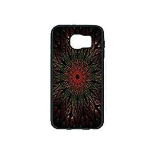 Black Background Custom Hard Plastic back Phones Case for Samsung Galaxy S6 - Galaxy S6 Case Cover