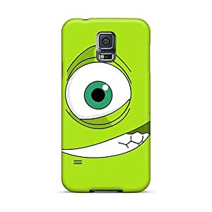 MarieFrancePitre Samsung Galaxy S5 Best Cell-phone Hard Cover Custom Vivid Green Day Skin [Ooe12856RXOA]