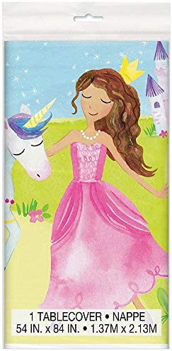 (Party Cups) - Unique Party 58376 Magical Princess Party Paper Cups, Pack of 8
