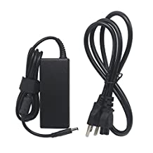 Tolin 65W 4.5 x 3.0mm Connector Laptop ac adapter / charger + Power Cord for Dell Inspiron 11 3000 (3147) (3148) 13 7347 14 3458 i7347 i3458 Series; Dell P20T P20T002