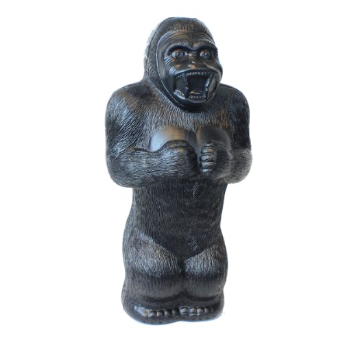 Large Gorilla Money Bank: 17 Inch Plastic Blow-Mold - Classic Retro Design by Fantazia Marketing (Jumbo Bank Slot)