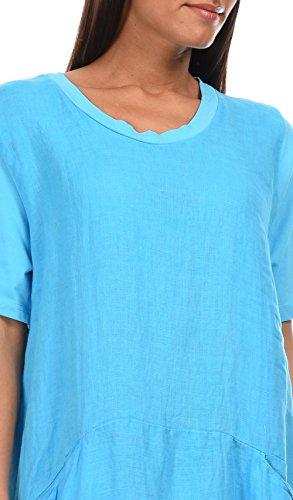 100 Abito Donna LIN Blu SALOME 6Pr5w6q