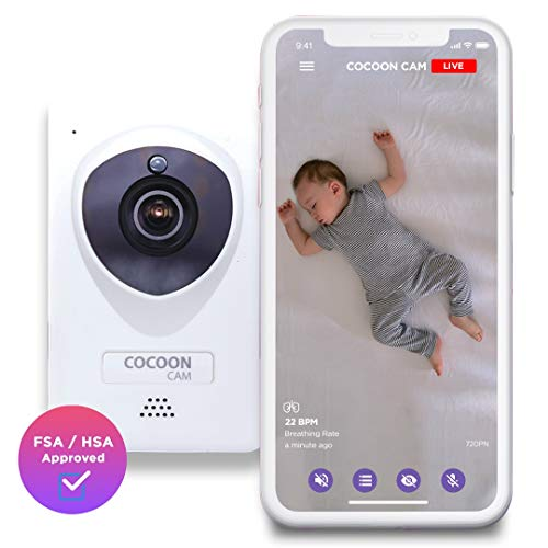 Cocoon Cam Plus - Baby Monitor with Breathing Monitoring...